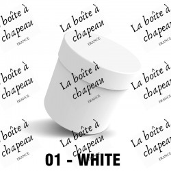 Boîte à chapeau - Blanc