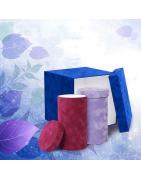Production & livraison boîte à chapeau carrée en velours